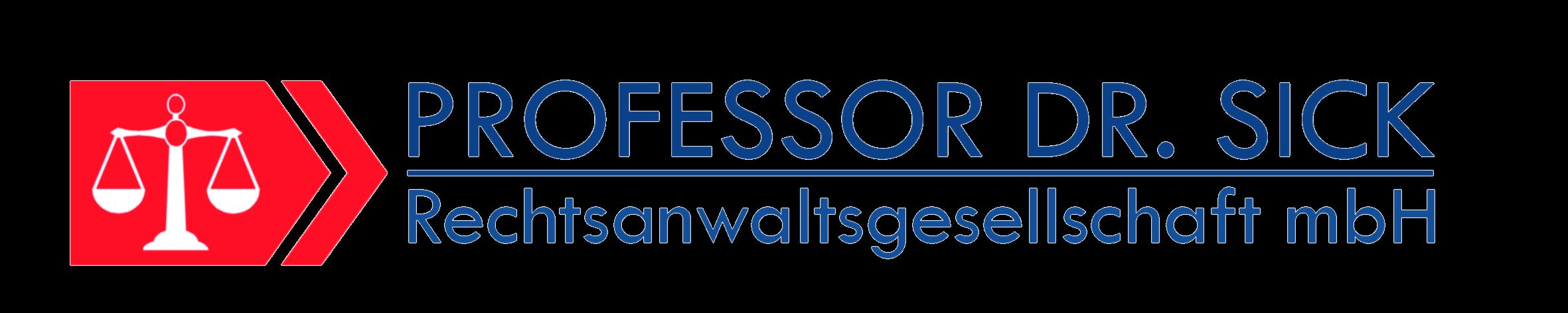 Professor Dr. Sick Rechtsanwalts GmbH